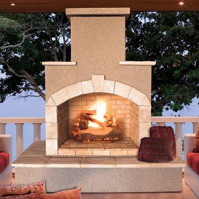 Steel Gas Outdoor Fireplace