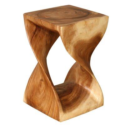 Asian Art Imports Wood Twist Stool