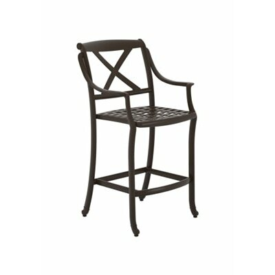 "BelMar 28"" Bar Stool Frame Color: Woodland"