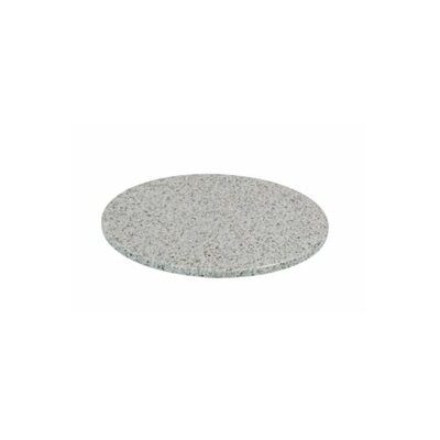 Round Granite Stone Table Top Finish: Sand Bar