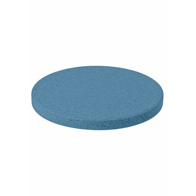 "Matrix Round Table Top Size: 48"" L x 48"" W, Finish: Reflect Blue"