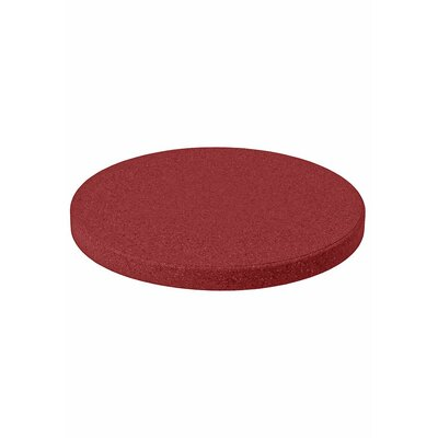 "Matrix Round Table Top Finish: Reflect Red, Size: 42"" L x 42"" W"
