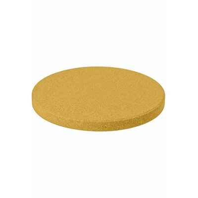 "Matrix Round Table Top Finish: Reflect Yellow, Size: 60"" L x 60"" W"