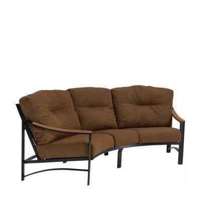 Brazo Crescent Patio Sofa with Cushions