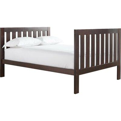Lakecrest Slat Bed Color: Espresso, Size: Full