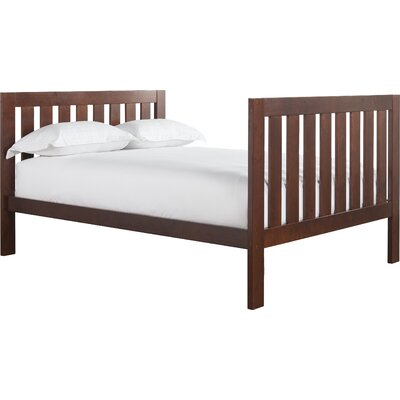 Lakecrest Slat Bed Size: Full, Color: Cherry