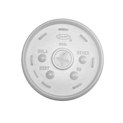 DART® Translucent Cold Cup Lids Fits 32 oz Cups