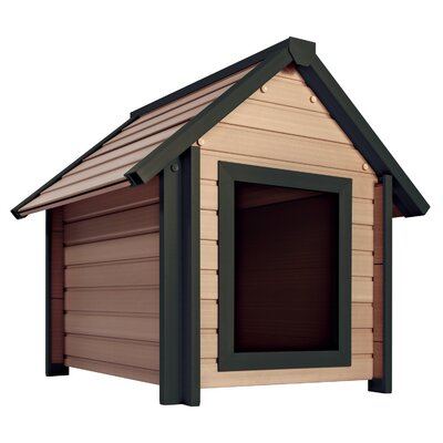 EcoChoice Bunkhouse Style Dog House Size: Small (25.2