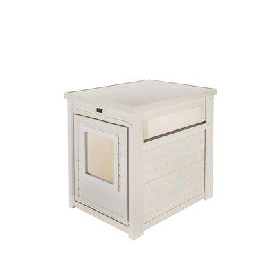 Ace Litter Box Enclosure Color: Antique White