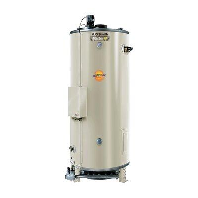 Commercial Tank Type Water Heater Nat Gas 85 Gal Master-Fit 366,000 BTU Input Multiflue Model
