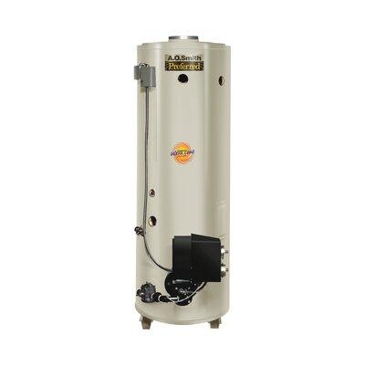 Commercial Tank Type Water Heater Nat Gas 86 Gal Conservationist 270,000 BTU Input Powered Burner