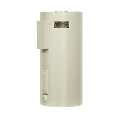 Commercial Tank Type Water Heater Light Duty Electric Dura-Powered Preferred 12KW Input