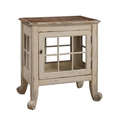Gail's Accents Cottage Window Pane Commode