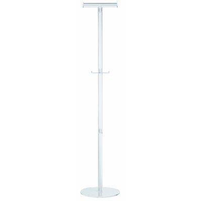 Alco Acro Acrylic Coat Stand for Coat Hangers with 2 Pegs