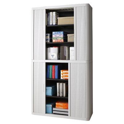 EasyOffice Storage Cabinet Cabinet Finish: Gray, Door Finish: Gray