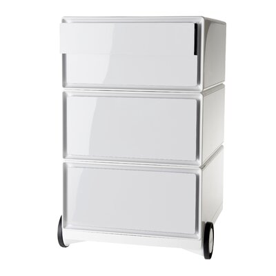 EasyOffice Storage Cabinet Color: White