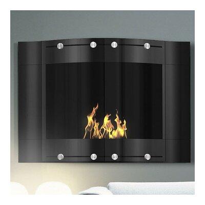 Decoflame Wall Mounted Bio-Ethanol Fireplace Finish: Black