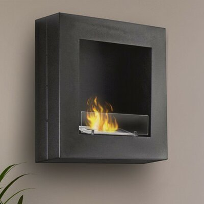 Hayden Wall Mounted Bio-Ethanol Fireplace