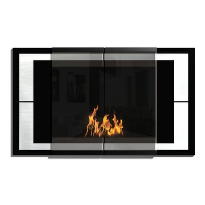 Decoflame Wall Mounted Bio-Ethanol Fireplace
