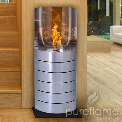 Stainless Steel Bio-Ethanol Fuel Fire Column