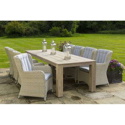 Life King Corona 6 Seater Dining Set with Cushions