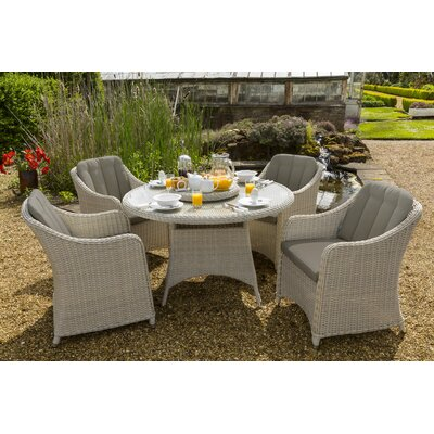 Life Queen Corona 6 Seater Dining Set with Cushions