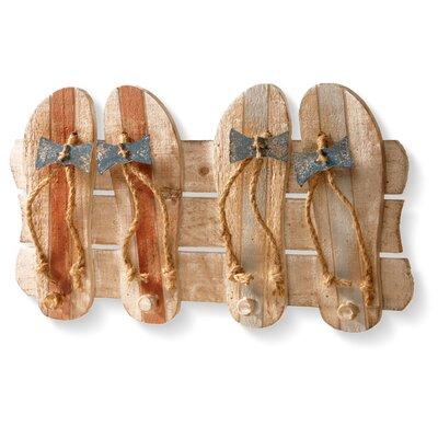 Sandal Wall Mounted Coat Rack