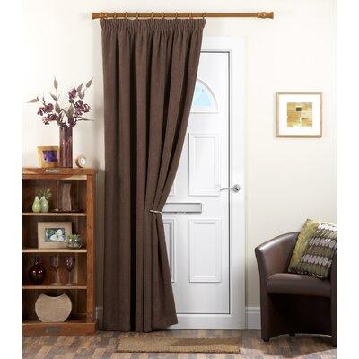 Dreams 'N' Drapes Chenille Curtain Single Panel