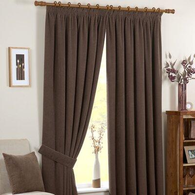 Dreams 'N' Drapes Chenille Curtain Panel