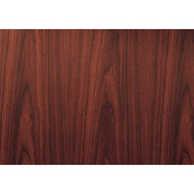 """4 Piece L-Shape Desk Office Suite Color: Mahogany, Size: 71""""W X 36""""D X 29.5""""H"""