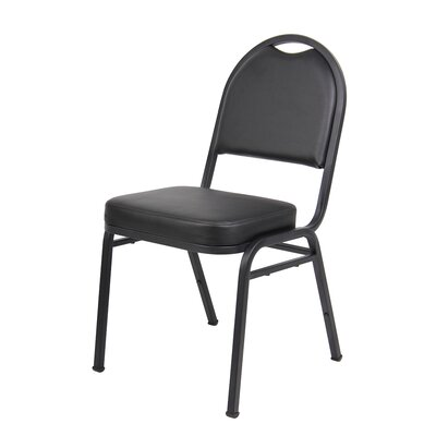 Banquet Guest Chair Seat Finish: Black Caressoft