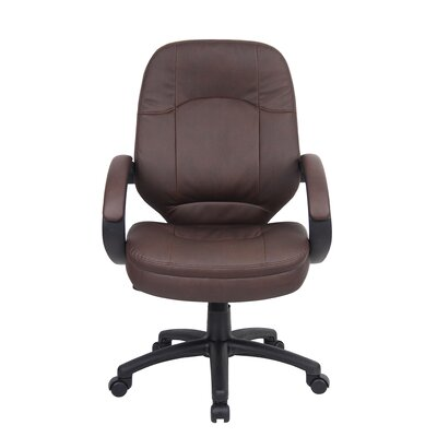 Executive Chair Upholstery: Brown