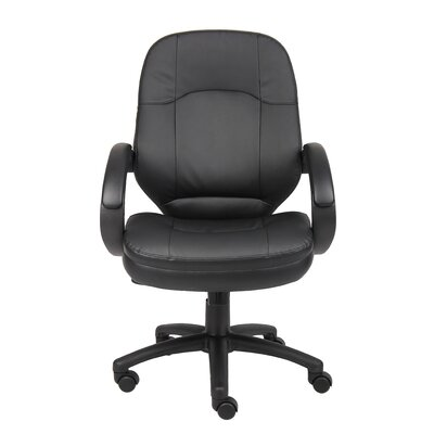 Executive Chair Upholstery: Black
