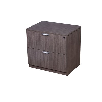 "29"" H x 31"" W Desk File Pedestal Finish: Driftwood"