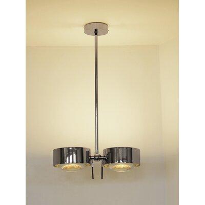 Top Light Design-Pendelleuchte 4-flammig Puk Maxx Side