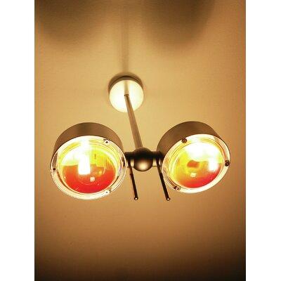 Top Light Up & Downlight 2-flammig Puk