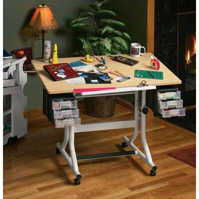 CraftMaster Drafting Table Color: Maple Woodgrain