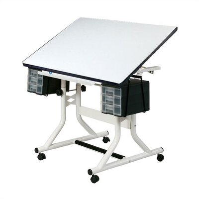 CraftMaster Drafting Table Color: White