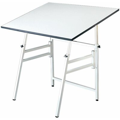 Professional Drafting Table Color: White