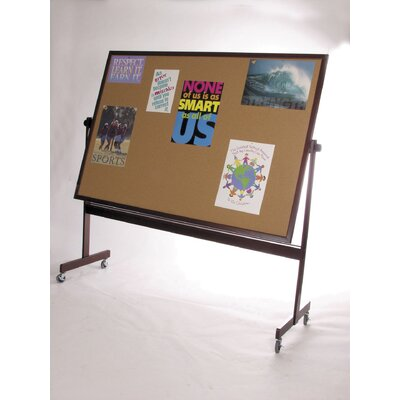 Best-Rite® Deluxe Dura-Rite Reversible Magnetic Whiteboard