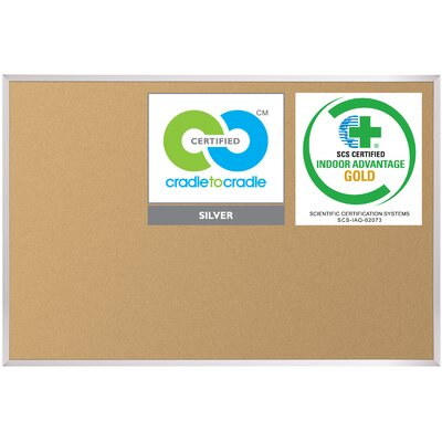 Best-Rite® VT Logic Wall Mounted Bulletin board