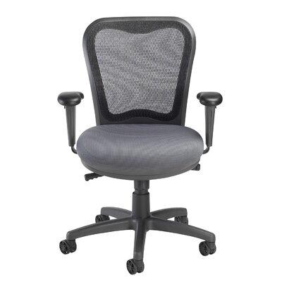 LXO Mid-Back Mesh Desk Chair Upholstery: Mystic Gray