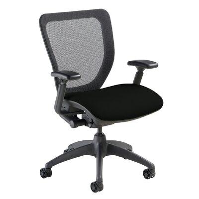 WXO Series Mid-Back Mesh Desk Chair Upholstery: Mystic Black