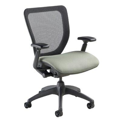 WXO Series Mid-Back Mesh Desk Chair Upholstery: Mystic Gray