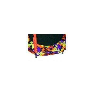 4' Trampoline Frame Pad Color: Orange