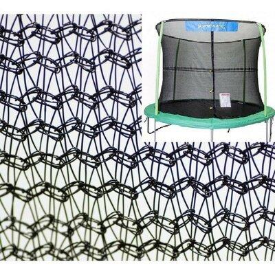 7.5' Round Trampoline Net Using 6 Poles