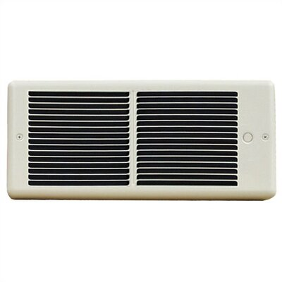 TPI Register Wall Insert Electric Fan Heater with Box