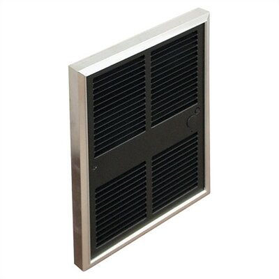 TPI Commercial 5,120 BTU Wall Insert Electric Fan Heater with Thermostat