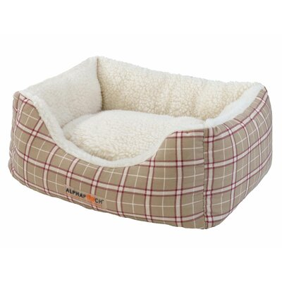 "Cuddler Bolster Dog Bed Size: Small (19"" L x 16"" W)"