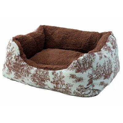 "Cuddler Bolster Dog Bed Size: Medium (26"" L x 20"" W)"